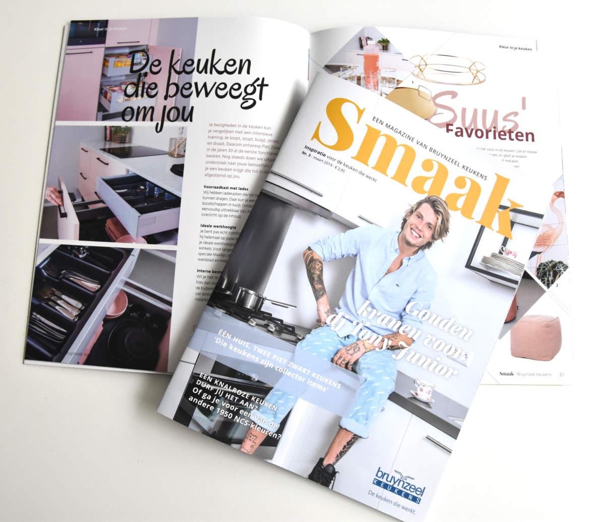 Inspiratiemagazine van Bruynzeel Keukens!