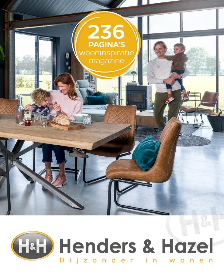 Het Henders & Hazel Wooninspiratie magazine staat online!