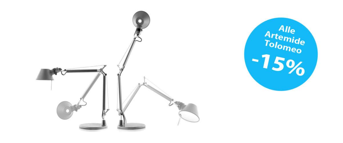 Ottevangers Lichtdesign: Artemide Tolomeo nu met korting!