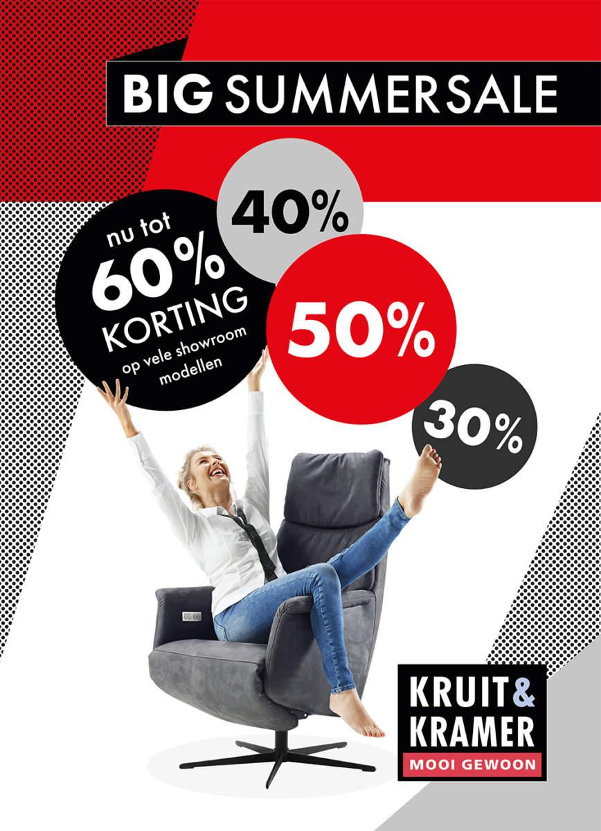 Sale op showroommodellen bij Kruit&Kramer!
