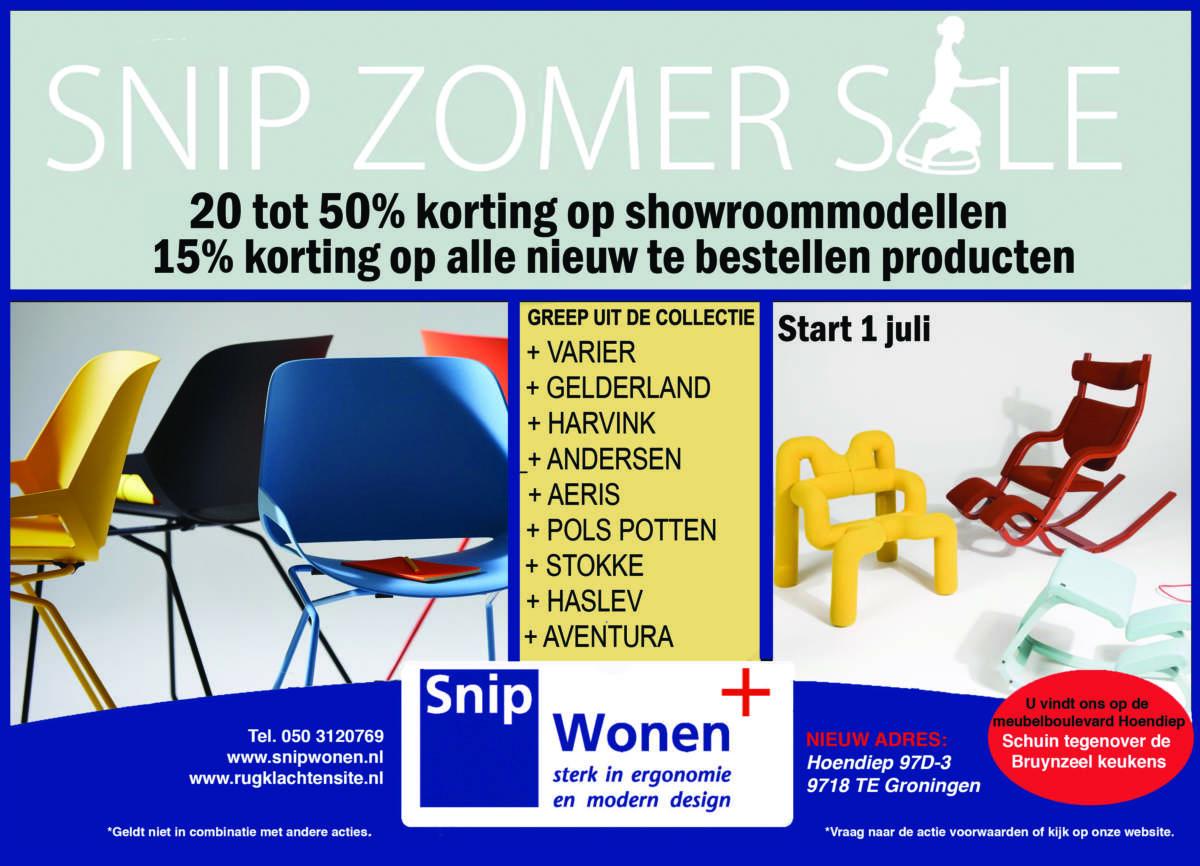 zomer sale Snip Wonen+