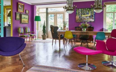 Binnenkijken: Kleurrijke combinatie van stijlen