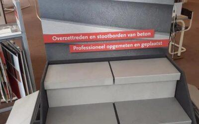 Nieuw! Traprenovatie BalsaBeton bij Carpetright Groningen