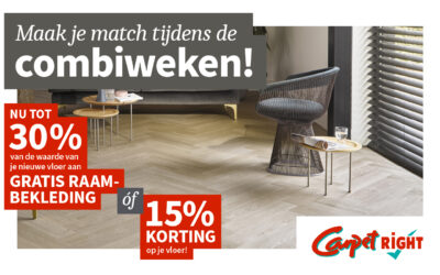 Carpetright: Combiweken!